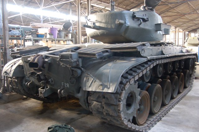 37 M26 Pershing (right rear view)
